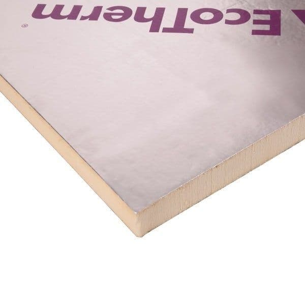 100mm Ecotherm Eco-Versal PIR Insulation Board 2400x1200mm
