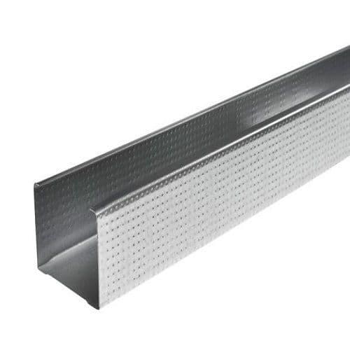 146mm Metal C Stud x 3.6m (Pack of 10)