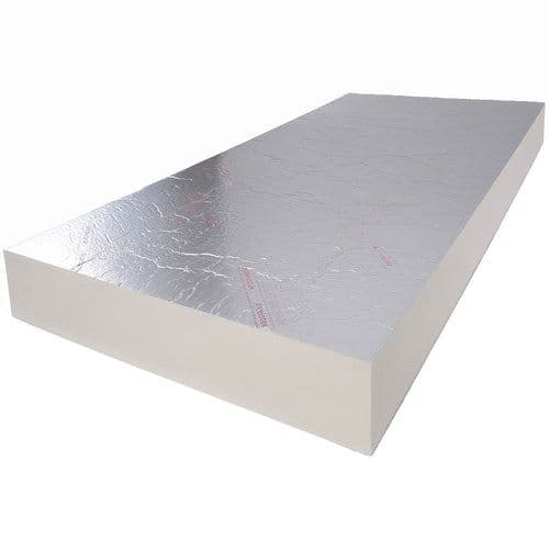 165mm Celotex XR4165 PIR Insulation Board 2400x1200mm (Pack of 12 boards)