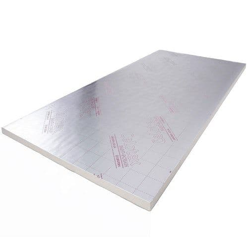 75mm Celotex GA4075 PIR Insulation Board 2400x1200mm