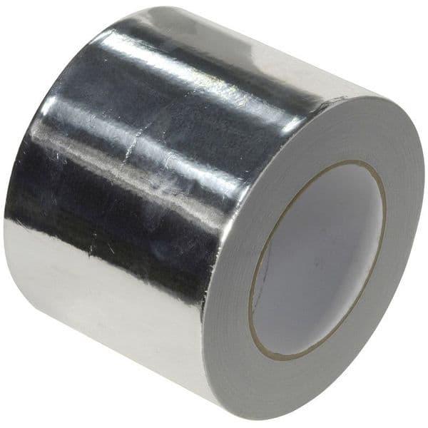 Aluminium Foil Tape 75mm x 45m Roll