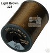 Brother Embroidery machine Thread Polyester Light Brown A817.323