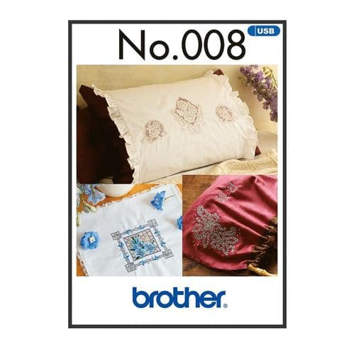 Brother Embroidery Sewing Machine Memory USB Stick BLECUSB8 Cut Work Style