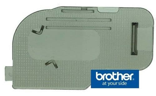 BROTHER GENUINE NEEDLE PLATE  BOBBIN COVER
