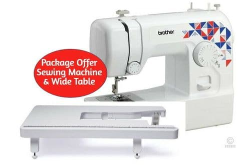 Brother L14s Sewing Machine  & WIDE TABLE