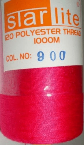 Polyester Sewing Machine Thread 1000 Metres Spools 900