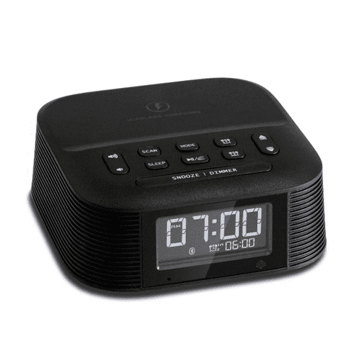 Bentley Molto Hotel Audio Clock with QI Wireless Charging, USB and Bluetooth (Case of 12)