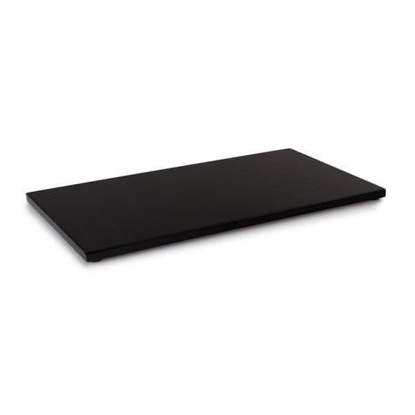 Black High Gloss Amenities Display Tray | Hotel Supplies Ltd