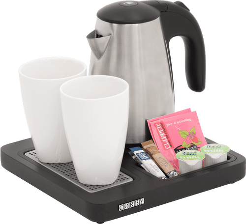 Corby Aintree Compact Welcome Tray with Kettle (Case of 12)