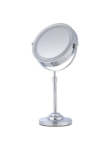 Corby Winchester Free Standing Illuminated Mirror, Chrome (Case of 6)