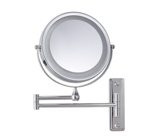 Corby Winchester Wall-Mounted Illuminated Mirror, Chrome (Case of 12)