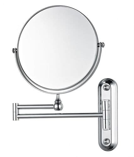 Corby Winchester Wall Mounted NON Illuminated Mirror, Chrome (Case of 12)