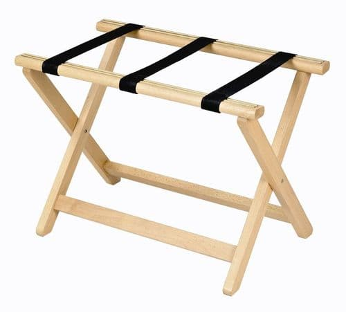 Corby York Wooden Luggage Rack, Beech (Case of 2)