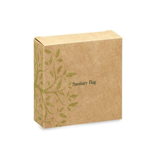 Go Green Paper Sanitary Bag (Case of 100)