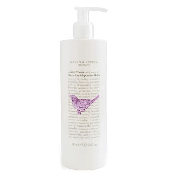 Green & Spring Hand Wash 380ml | Relaxing Hand Wash