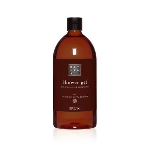 New  Rituals Happy Buddha Shower Gel, 1 Ltr Refill (Case of 6)