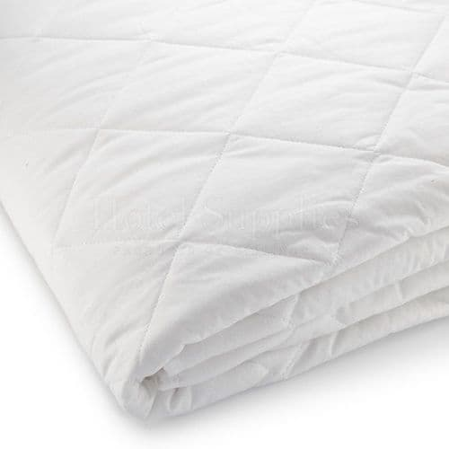 Quilted Mattress Pad with anchor straps (Case of 10)