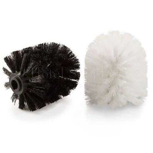 Replacement Toilet Brush Heads, White