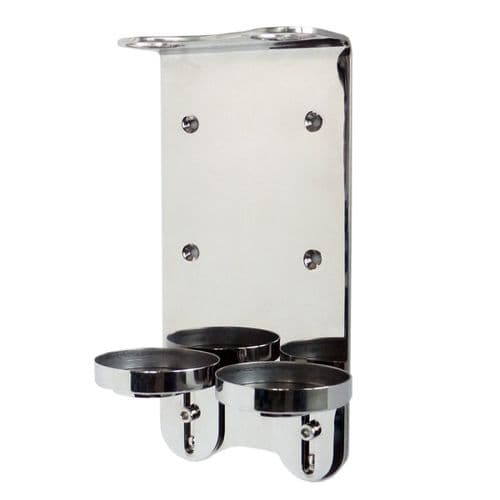 Stainless Steel Bracket for Pump Dispenser Bottles