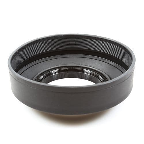 55mm Collapsible Rubber Lens Hood