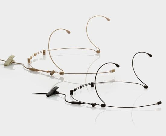 JTS CM-804 Double Ear Omni-directional Headset Microphone
