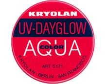 Kryolan Aquacolor UV-Dayglow Pink
