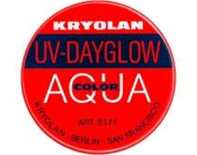 Kryolan Aquacolor UV-Dayglow Red